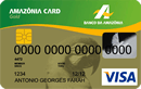 Cartão de crédito Amazônia Card Gold