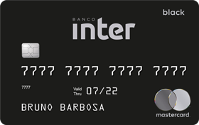 Cartão de Crédito Banco Inter Mastercard Black