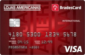 Cartão de Crédito Bradescard Lojas Americanas