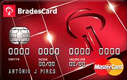 Cartão de Crédito Bradescard MasterCard Nacional