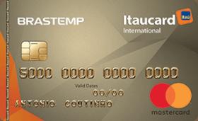 Cartão de Crédito Brastemp Itaucard Internacional Mastercard