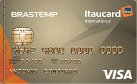 Cartão de Crédito Brastemp Itaucard Internacional Visa