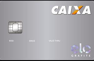 Cartão de Crédito Caixa Elo Grafite