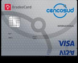 Cartão de Crédito Cencosud Visa Internacional