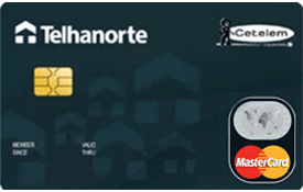 Cartão de Crédito Cetelem Telhanorte MasterCard