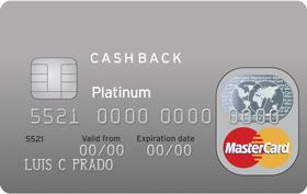Cartão de Crédito Citi Cash Back MasterCard Platinum