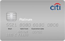 Cartão de Crédito Citi Visa Platinum