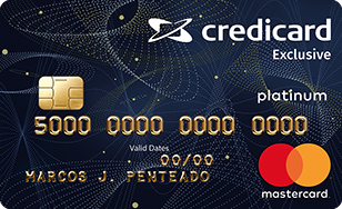 Cartão de Crédito Credicard Exclusive MasterCard Platinum
