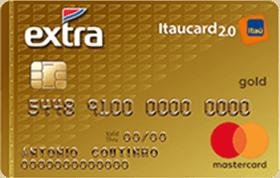 Cartão de Crédito EXTRA Itaucard 2.0 Gold MasterCard