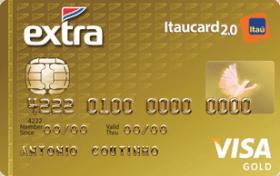 Cartão de Crédito EXTRA Itaucard 2.0 Gold Visa