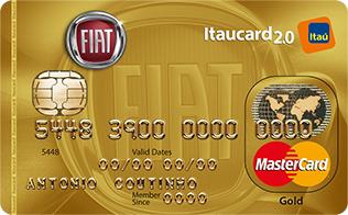 Cartão de Crédito FIAT Itaucard 2.0 Gold MasterCard