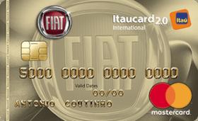Cartão de Crédito FIAT Itaucard 2.0 International MasterCard
