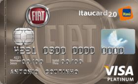 Cartão de Crédito FIAT Itaucard 2.0 Platinum Visa