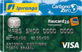 Cartão de Crédito Ipiranga Carbono Zero 2.0 Internacional Visa
