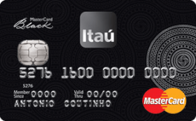 Cartão de Crédito Itaú MasterCard® Black™