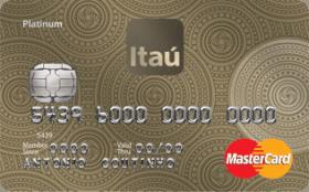 Cartão de Crédito Itaú MasterCard Platinum