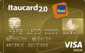 Cartão de Crédito Itaucard 2.0 Gold Sempre Presente Visa