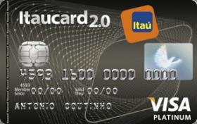 Cartão de Crédito Itaucard 2.0 Platinum Programa Sempre Presente Visa