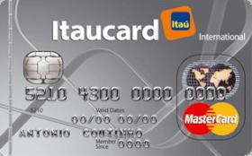 Cartão de Crédito Itaucard Universitário MasterCard Cinza