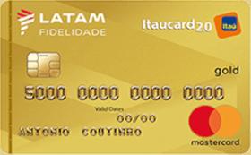 Cartão de Crédito LATAM Itaucard 2.0 Gold Mastercard