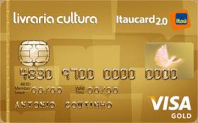 Cartão de Crédito Livraria Cultura Itaucard 2.0 Gold Visa