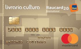 Cartão de Crédito Livraria Cultura Itaucard 2.0 Internacional MC