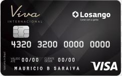 Cartão de Crédito Losango Viva Internacional