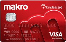 Cartão de Crédito Makro Visa Internacional