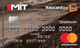 Cartão de Crédito Mit Itaucard 2.0 Platinum MasterCard