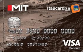 Cartão de Crédito Mit Itaucard 2.0 Platinum Visa