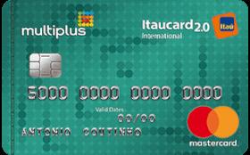 Cartão de Crédito Multiplus Itaucard 2.0 Internacional Mastercard