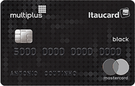 Cartão de Crédito Multiplus Itaucard Mastercard Black