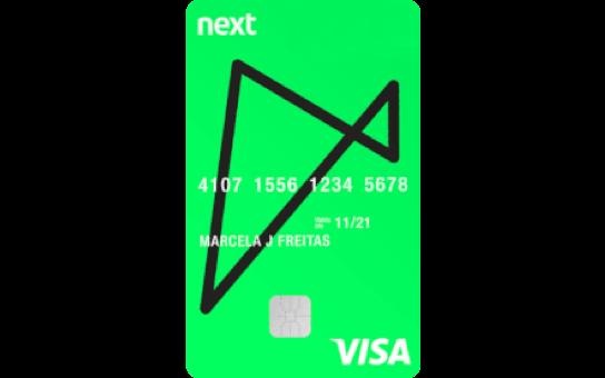 Cartão de Crédito Next Visa Internacional