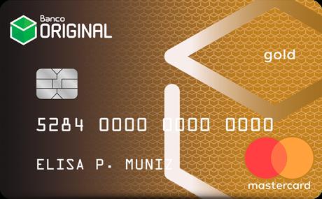 Cartão de Crédito Original MasterCard® Gold