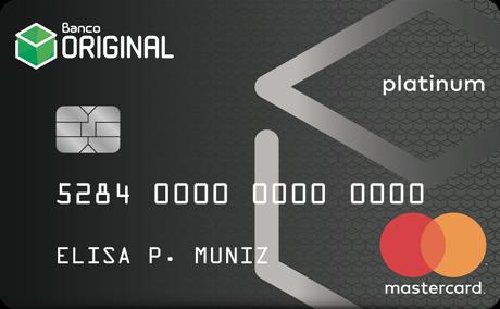 Cartão de Crédito Original MasterCard® Platinum