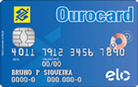 Cartão de crédito Ourocard Banco do Brasil Elo Básico