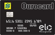 Cartão de Crédito Ourocard Banco do Brasil Elo Nanquim
