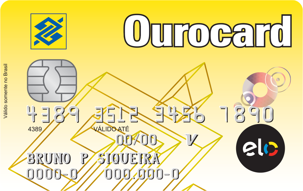 Cartão de Crédito Ourocard Elo Nacional
