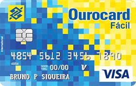 Cartão de Crédito Ourocard Fácil