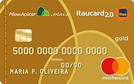 Cartão de Crédito Pão de Açúcar Itaucard 2.0 Gold MasterCard