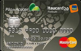 Cartão de Crédito Pão de Açúcar Itaucard 2.0 MC Platinum Gourmet