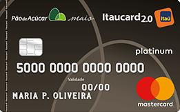 Cartão de Crédito Pão de Açúcar Itaucard 2.0 MC Platinum