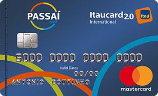 Cartão de Crédito Passaí Itaucard 2.0 International Mastercard