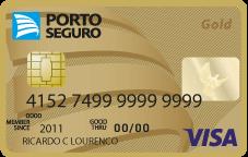Cartão de Crédito Porto Seguro Visa Gold