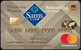 Cartão de Crédito Sam's Itaucard 2.0 Internacional Mastercard