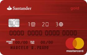 Cartão de Crédito Santader 1|2|3 Gold