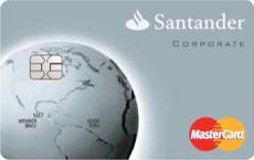 Cartão de Crédito Santander Corporate Mastercard