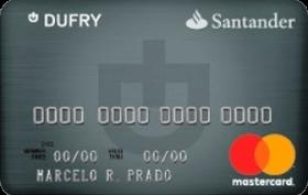 Cartão de Crédito Santander Dufry Platinum MasterCard