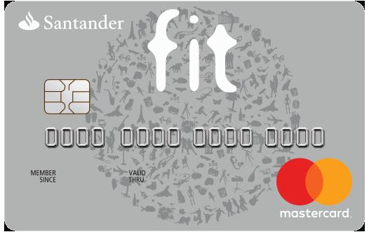 Cartão de Crédito Santander Fit