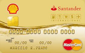 Cartão de Crédito Shell Santander Internacional